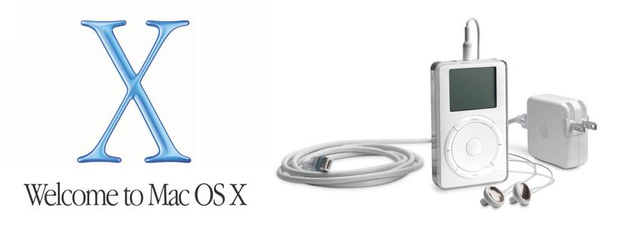 Mac OS X e il primo iPod