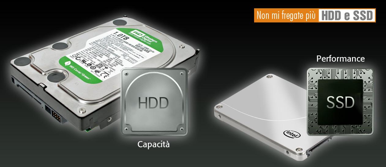 Non mi fregate più: HDD e SSD